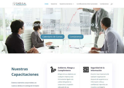 Website CAES Consulting & Education Services